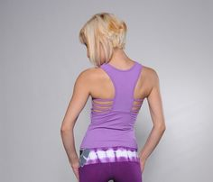 Perfection Activewear Jane Tank Top - Bootyfits by Yanina Sportswear - Sexy Workout Clothes - Gym, Fitness, Athletic Wear, Women Exercise Clothing