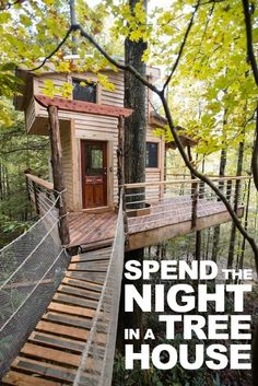 The Canopy Crew has two treehouses you can rent for overnight stays in Red River Gorge, Ky. / Image courtesy of The Canopy Crew // Published: 3.11.17