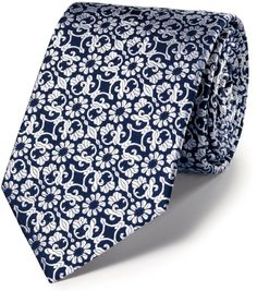 Shop for Luxury navy floral tie by Charles Tyrwhitt at ShopStyle. Charles Tyrwhitt, Floral Tie, Shirt Dress, Navy, Luxury, Ties, Mens Tops, Shirts, Shopping