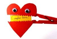 Chores and gifts for Valentine's Day - primary school children .- Chores and gifts for Valentine's Day – primary and pre-school children Valentine Crafts For Kids, Valentines Diy, Valentine Day Gifts, Presents For Dad, Gifts For Him, Primary School, Pre School, Rubber Duck, Betty Boop