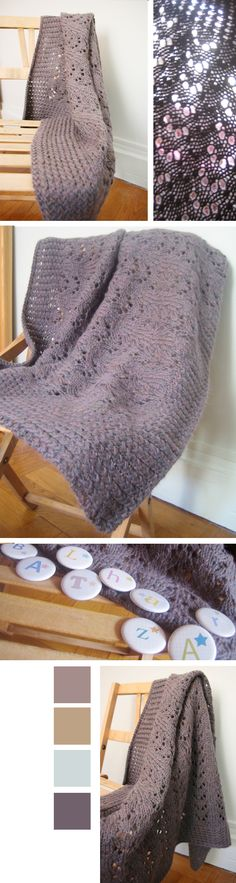 Baby blanket - tuto in french