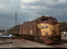 RailPictures.Net Photo: CRIP 648 Chicago, Rock Island & Pacific (Rock Island) EMD E8(A) at Blue Island, Illinois by Marty Bernard