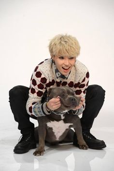 "U-kwon LOL that dog's face says it all ""No. Why! Stop it now"""