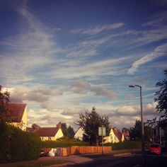 #sunnyday #letchworth #gardencity #uk #anglia #wielka_brytania #sky #memories #holiday2015