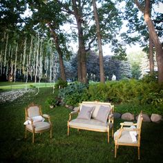 Ornate Old-Fashioned Lounge Area/ gorgeous for the green next to the gazebo if the weather co-operates @Laura Dillingham