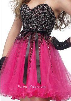 Homecoming Dress Red Homecoming Dress Short Prom by VeraFashion, $135.00