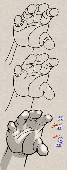 34 Ideas How To Draw Hands Tutorials Design Reference For 2019 Arm Drawing, Human Drawing, Anatomy Drawing, Figure Drawing, Drawing Hands, Drawing Lessons, Drawing Techniques, Drawing Tips, Drawing Reference