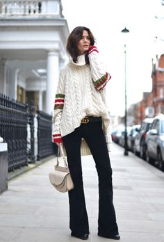 25 Chic Holiday Outfits to Copy from Street Style Stars Fall Winter Outfits, Autumn Winter Fashion, Christmas Outfits, Christmas Sweaters, Love Fashion, Fashion Outfits, Womens Fashion, Fashion Ideas, Emo Fashion