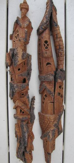 Cottonwood Bark - Whimsical Houses