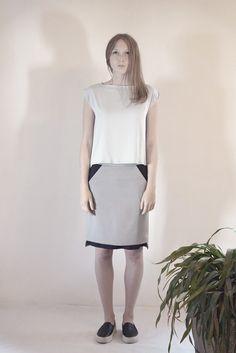 SILEX skirt #PANTHEIST #FLUMENcollection #womenswear
