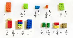 How Lego Blocks Can Help With Maths Skills!