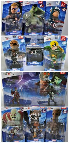 Marvel Infinity Play Sets: Disney Infinity 2.0: Marvel Super Heroes for Xbox 360 {Review} #Marvel #Disney