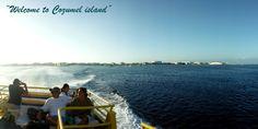 Visiting Cozumel island via Ferry