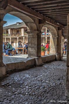 Medieval town of Pedraza, Segovia, Spain