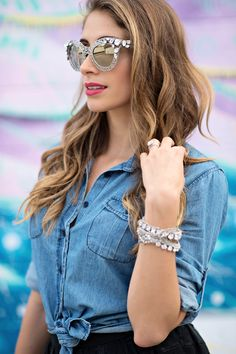 Dolce Gabbana Cat eye filigree Sunglasses