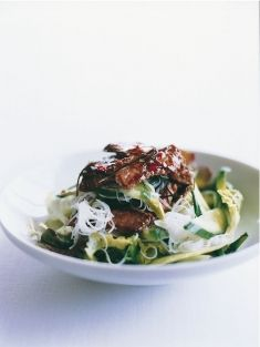 You could make Donna Hay's lime beef and noodle salad using our economical Popes Eye cut