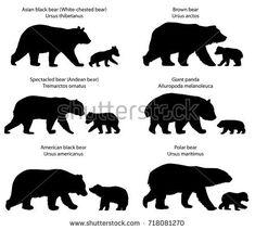 brown bear cub outline clipart google search bears pinterest rh pinterest com polar bear cub clipart bear cub images clip art