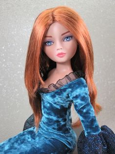 Monique Wig ELLOWYNE-SUE Size 7 1/4 Double-Red Ellowyne Evangeline Unoa #DollWigMoniqueGoldCollection