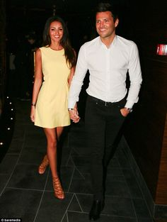 Michelle Keegan and her fiancé