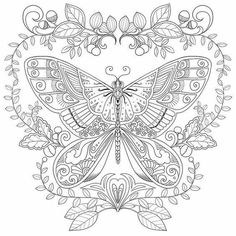 Lizzie preston magical garden colouring page for adults Coloring book zip vk