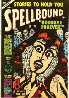 Scott's Classic Comics Corner: My Top 13 Bill Everett Horror Covers Vintage Comic Books, Vintage Comics, Comic Books Art, Comic Art, Creepy Comics, Horror Comics, Horror Art, Underground Comics, Retro Horror