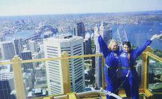 Sydney Tower Eye Skywalk #Australia2015 #memories #holiday #Sydney #sydneytowereyeskywalk #daytrip #fun #view #harbour #experience #sydneytower #girlsday #sydneyoperahouse #SydneyHarbourBridge #NSW @tamara_sneds by mikhailachelsea http://ift.tt/1NRMbNv