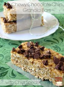 Kitchen Kneads: No-Bake Chewy Granola Bars