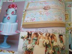 Rosa Belle boxed invitation