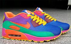 cheap for discount 76bda 61d17 UK New Nike Air Max 90 PRM EM Women Royal blue Grass Green Crimson Yellow  Pink Orange,nike air max running shoe,nike running shoes for flat feet,Top  ...