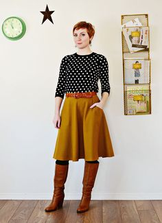Definitely need to make one of these in a similar yellow. And navy. And grey.