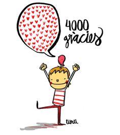 4000 gràcies