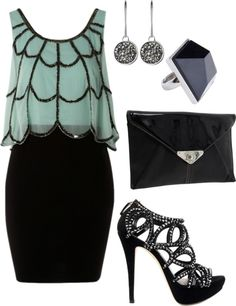 """Girls Night Out, Outfit"" by jackie-phillips ❤ liked on Polyvore   I LOVE this shirt!!!"