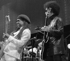 Prince and Nile Rodgers - Essence Fest 2014
