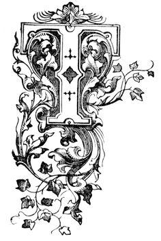 This exquisite celtic knotwork illuminated letter ' b' from the late 10th century, comes from a latin vellum manuscript known as ' Evangelia Ottonis'.