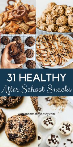 31 After School Snacks for Busy Kids & Teens for Busy Kids & Teens - Momma Fit L. - 31 After School Snacks for Busy Kids & Teens for Busy Kids & Teens – Momma Fit Lyndsey Looking f - Healthy Sweet Snacks, Savory Snacks, Healthy Meal Prep, Snack Recipes, Protein Snacks, High Protein, Healthy Munchies, Vegetarian Meal, Healthy Recipes
