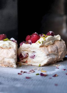 Raspberry Meringue Roulade | Independant