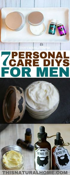 Treat your man well with these personal care DIYs just for men! They'll love… Treat your man well with these personal care DIYs just for men! They'll love getting the gifts and you'll love how they smell wearing them! Diy Gifts For Men, Diy For Men, Diy Christmas Gifts For Men, Deodorant, Mens Shaving Cream, Men Shaving, Diy Beard Oil, Homemade Body Wash, Surprise Gifts For Him