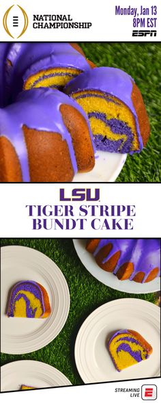 Get gameday inspiration and recipes for the College Football Playoff National Championship on at ET only on ESPN! - 3 Make-Ahead Recipes for your ESPN College Football Playoff National Championship Party Espn College Football, Football Food, Just Desserts, Delicious Desserts, Dessert Recipes, Game Day Quotes, Tailgate Food, Tailgating, Game Day Shirts