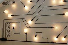 8 Creative Modern Wall Lamp To Light Up Your Summer Display Design, Store Design, Wall Design, Display Wall, Display Lighting, Lighting Ideas, Lighting Stores, Design Art, Blitz Design