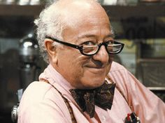 "Classic Mr. Hooper.  In case you don't remember him, ""Mr. Hooper owned and operated the store at the heart of the Sesame Street neighborhood. Wise and grandfatherly, he was there for anyone in need of advice, companionship, or a delicious birdseed milkshake."" (ETV)"