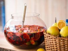 Punch aux fruits sans alcool