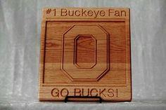 Go Bucks Plaque