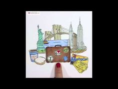 Welcome To New York! - Stop Motion Animation by Rachel Ryle - YouTube