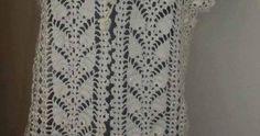 crochet bolero ,pineapple stitch, free pattern , Crochet Blouse, Crochet Top, Free Pattern, Google Translate, Stitch, Knitting, Women, Fashion, Vest Coat