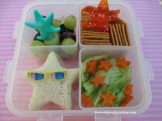 Bento School Lunches: Bento Lunch: Star Bento