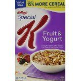 Kelloggs Special K Cereal Fruit  Yogurt 191 oz ** Read more reviews of the product by visiting the link on the image. Note: It's an affiliate link to Amazon.