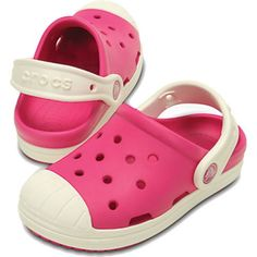 Crocs Kids Bump It Clog Candy Pink And Oyster Kids get all the comfort and simplicity of a Crocs clog with the look of vintage sneakers Check out the