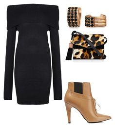 A fashion look from October 2017 featuring long sleeve off the shoulder dress, tan ankle boots and leopard purse. Browse and shop related looks. Elizabeth And James, Bling Jewelry, Alexander Wang, Shoe Bag, Polyvore, Stuff To Buy, Shopping, Accessories, Collection