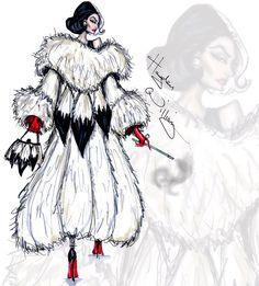"Cruella de Vil collection by Hayden Williams ""I Live for Fur"""
