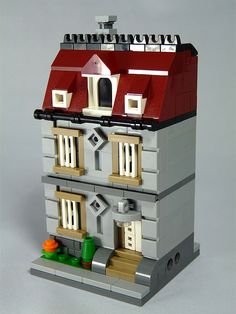 "LEGO MOC ""Mini Modulars Townhouse"" (by moctown)"